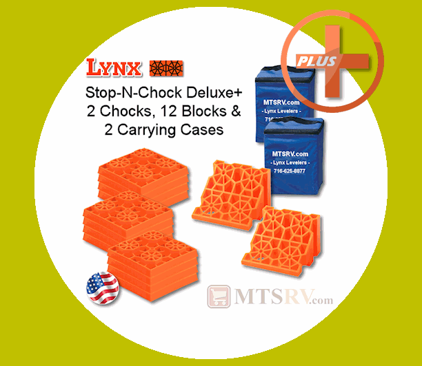 Lynx's Chocks Deluxe PLus Pack