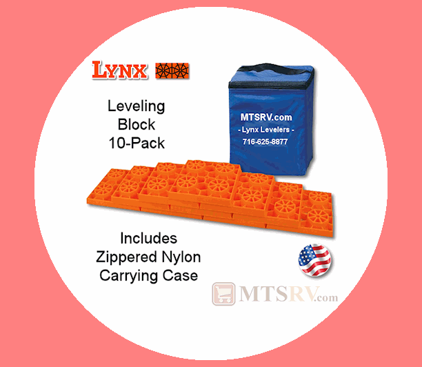 Lynx's 10 Pack Leveling Blocks